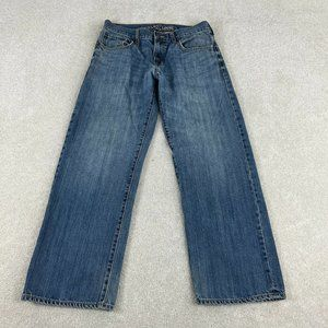 Old Navy Jeans Mens 29x30 Blue Loose Distressed